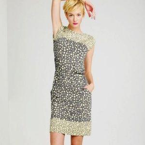 Boden Adelaide leaf print dress